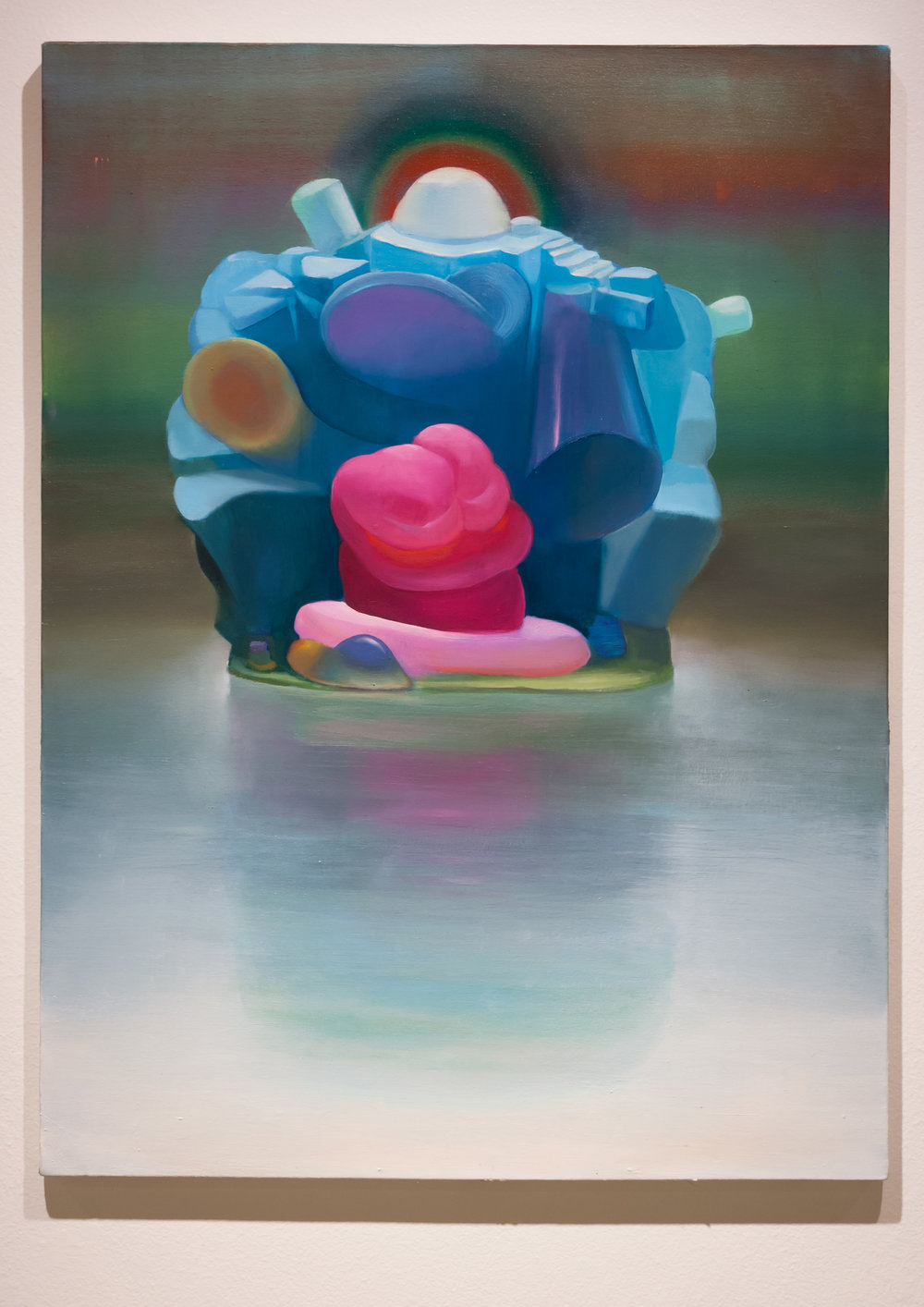 Conor Fagan | Sotapanna | 2018 | oil on canvas | 40 x 30 in.