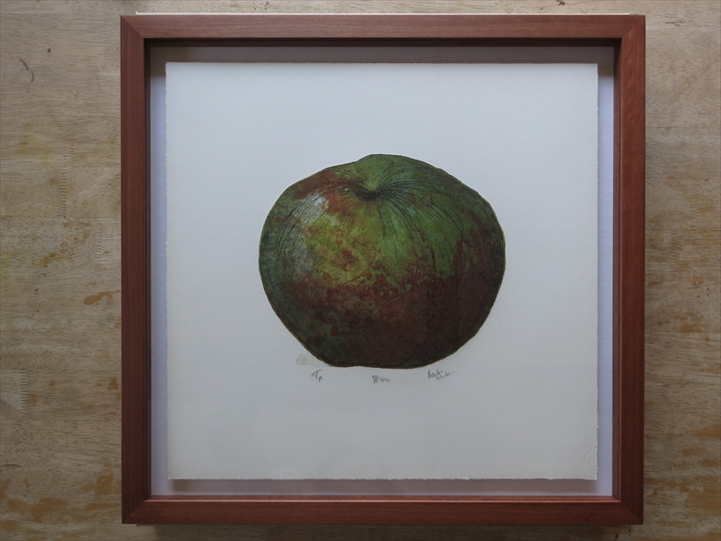 Atsuko Honda | 果物 [A Fruit], 2006 | Paper Dimensions: 46 x 47.5 cms( 18.1102 in x 18.7008 in)| Mixed Media