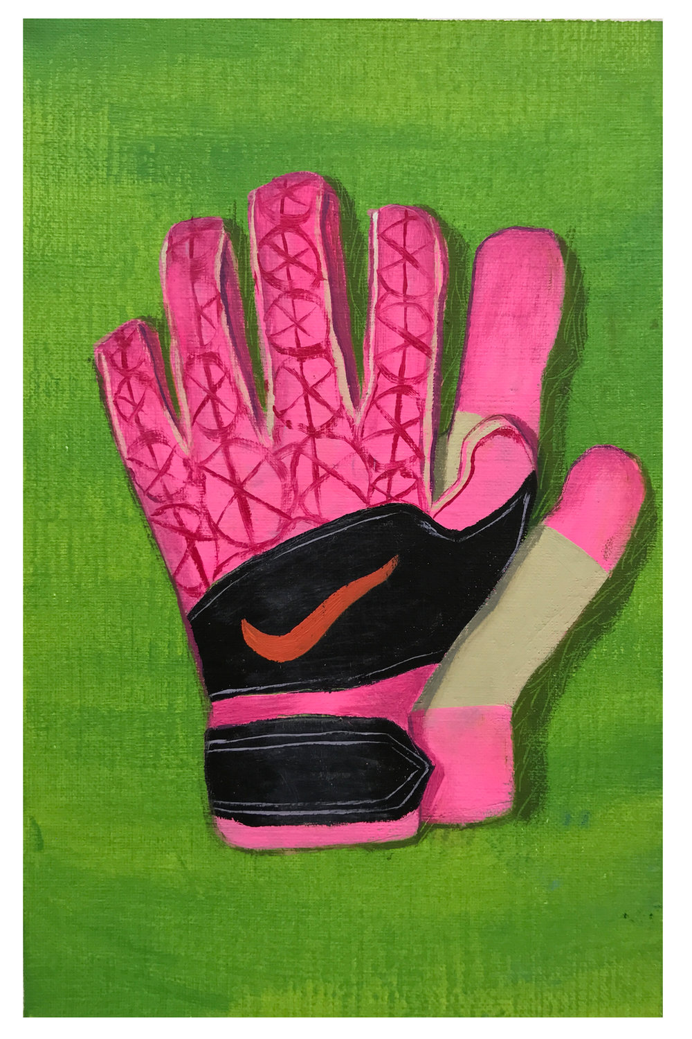 Guantes, 9 x 6 in.