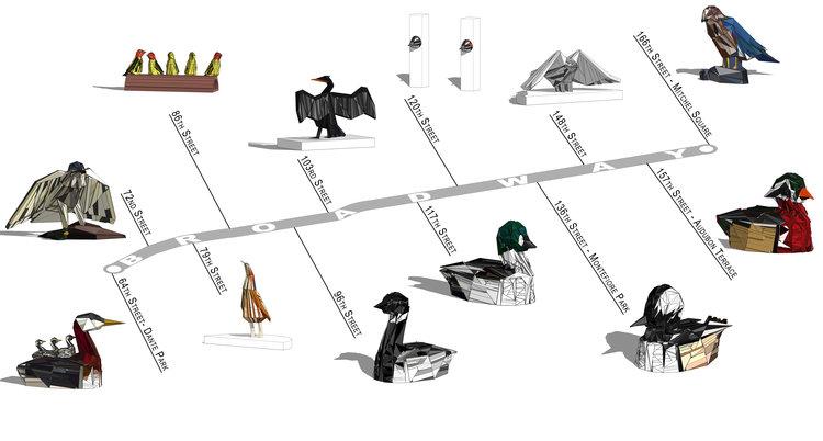 AUDUBON Gitler - Asp map nyc
