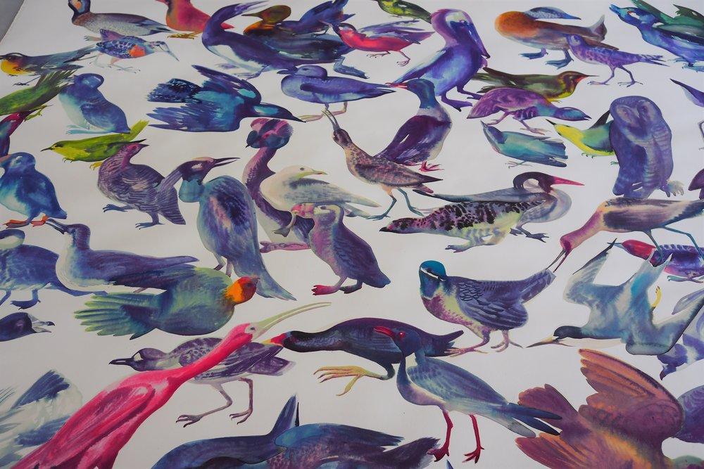Bird Watching , 2018 (detail 1)