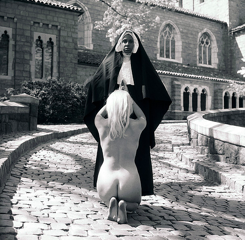 Renee Cox, Seven Minutes In	Heaven and/or They Have Sinned,	1997 19 ¾ x 19	¾ in. silver gelatin photograph (edition of 3)