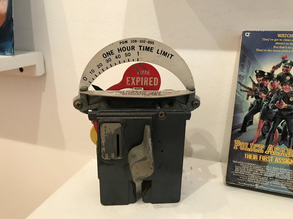Old NYC Parking Meter (Michael Anderson, Artist)