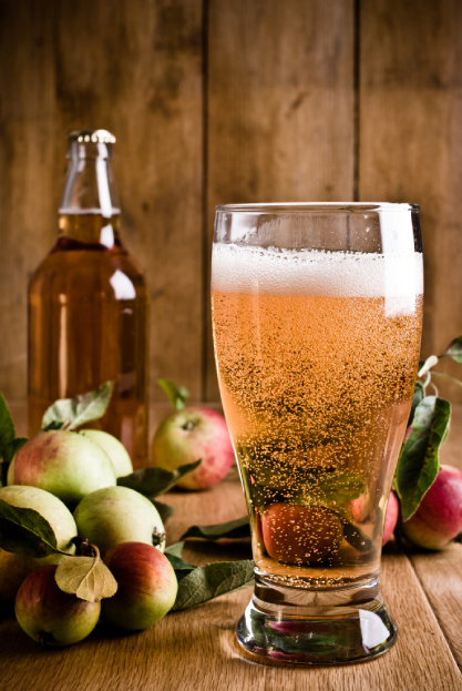 A pint of cool refreshing cider...
