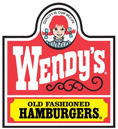 Wendy's logo (1983 – 2013)