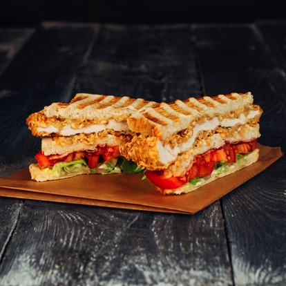 Papa T's Club Sandwich.