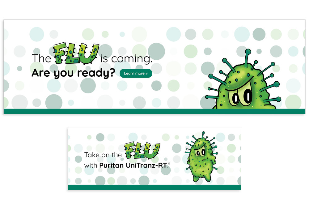 Flu Campaign Web Banners