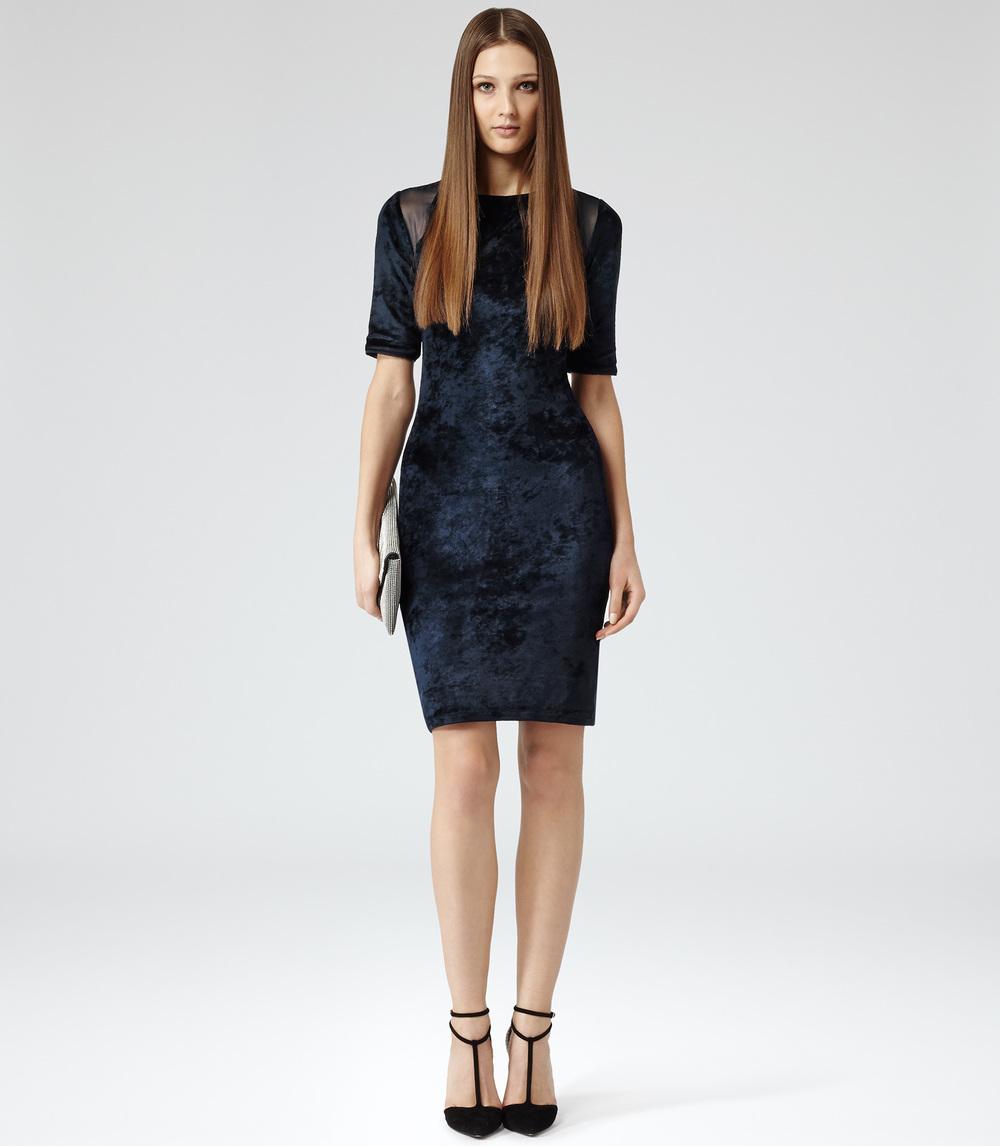 Reiss Velvet Dress