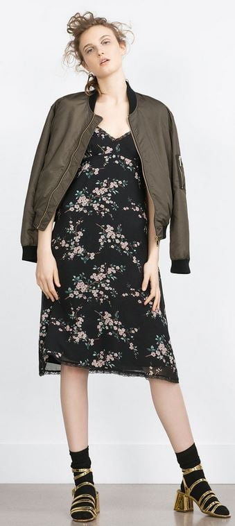 Zara floral cami dress £29.99