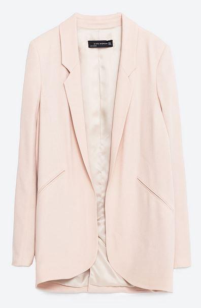 Zara Asymmetrical blazer £69.99