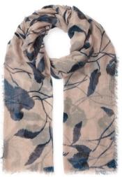 Jigsaw floral print scarf, £49.00