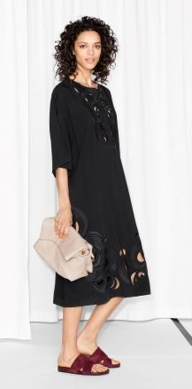 Cut-out embroidery dress £95.00