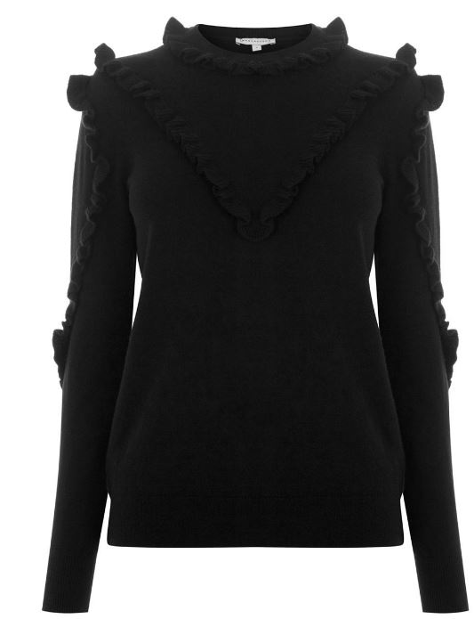 Warehouse frill yoke jumper - £42.00