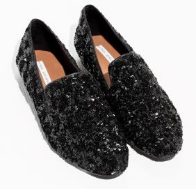Sequin slipper loafers, £69, &other stories