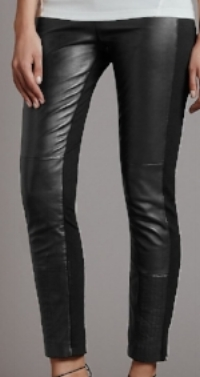 Marks and Spencer leather and ponte leggings - £129.00