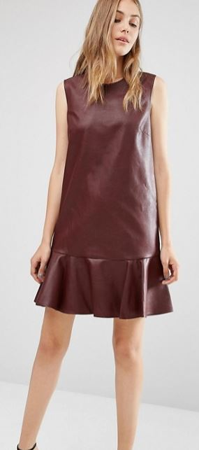 BCBG MaxAzria leather dress at ASOS - £238