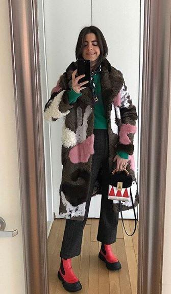 Super style blogger Leandra Medine @manrepeller