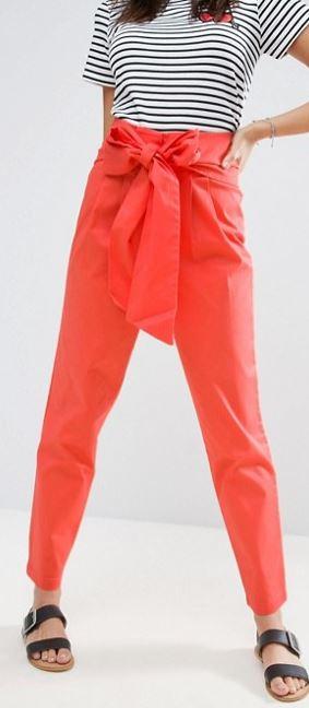 ASOS Tie detail trousers £30.00