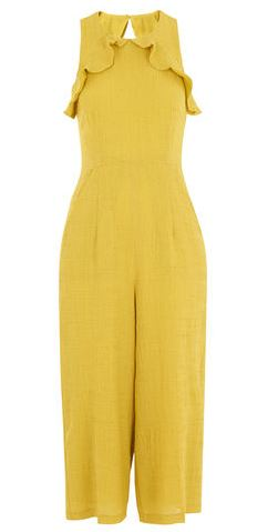 Yellow frill jumpsuit, Whistles £175.00