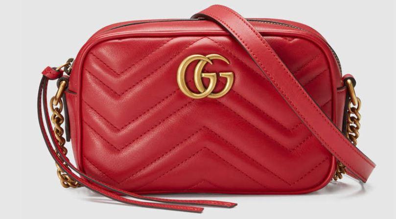 Marmont mini bag, Gucci £640.00