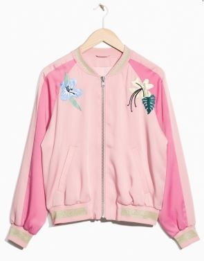 Embroidery bomber jacket, &other stories £95.00