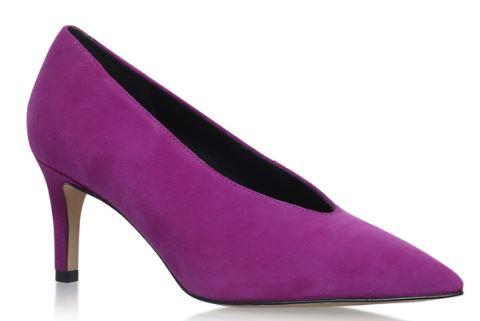 Fuschia mid heel shoes, Kurt Geiger £59.00