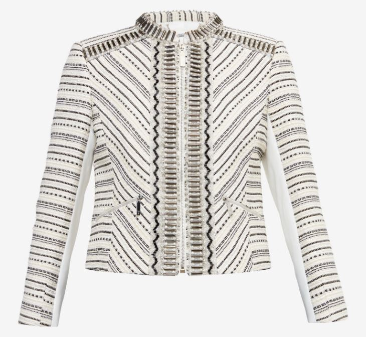 Embellished jacket, Ted Baker £275.00