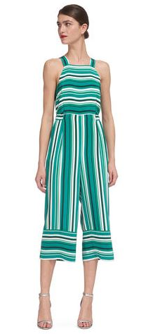 Resort silk stripe jumpsuit, £135.00 (was £230.00), Whistles