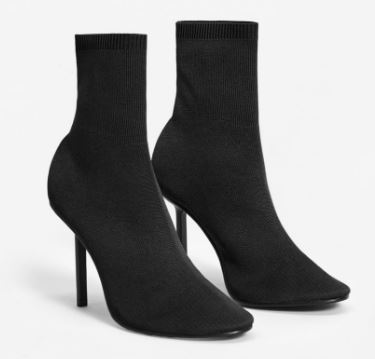 Black sock boots, Mango £79.99