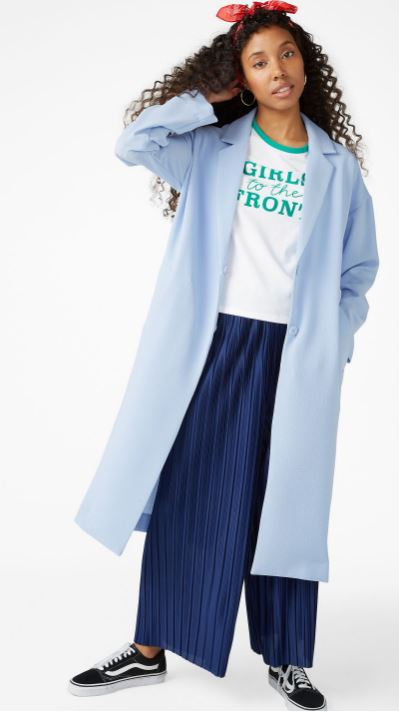 Long dressy coat, Monki £50.00