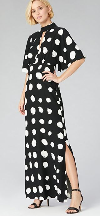 Spot keyhole maxi dress, £62.00 Truth & Fable