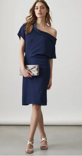 Camilia Asymmetric dress, £185.00 (now £140.00 in the sale), Reiss