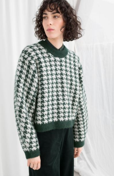 Houndstooth sweater, &other stories, £79.00