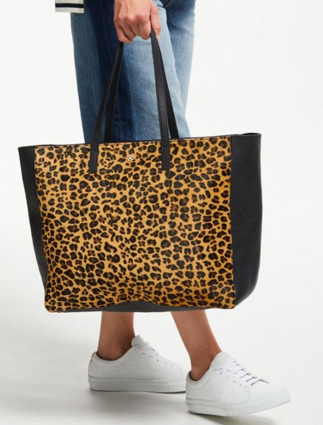 Leopard print shopper, Day Birger et Mikkelsen, £190.00