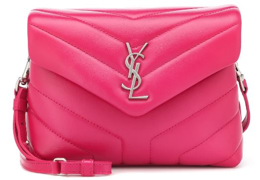Saint Laurent Mini Loulou leather bag, My Theresa £815
