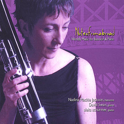Features Blues for Laurie (from Four Preludes for Piano) arranged for bassoon & piano. Wonderful collection of bassoon works played bassoonist, Nadina Mackie Jackson.