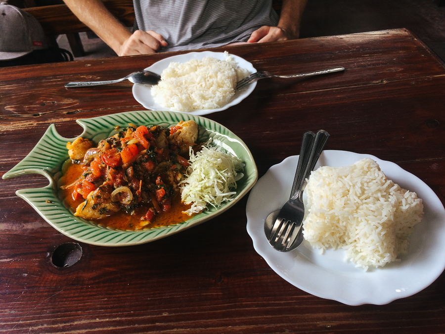 Burmese food from The Swan