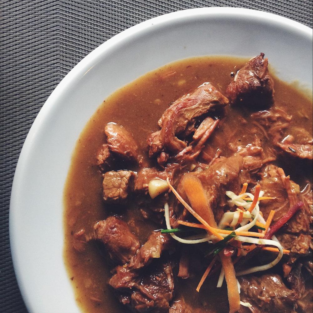 Flemish stew (Carbonnade)