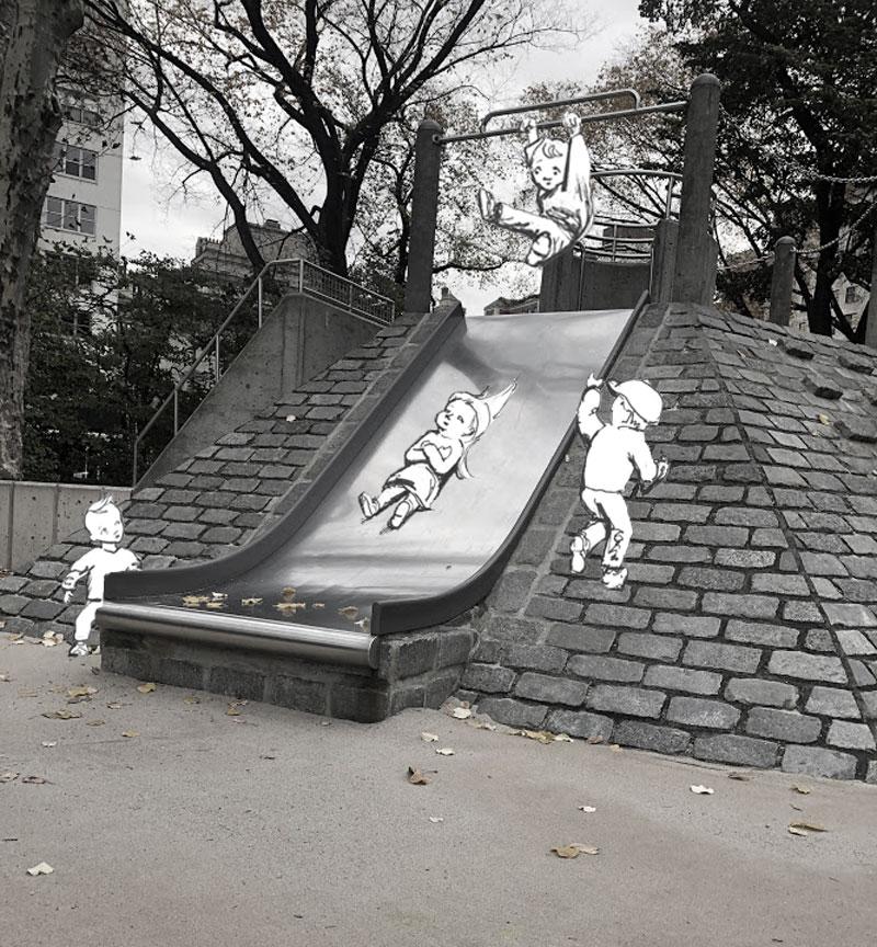 Pyramid Slide