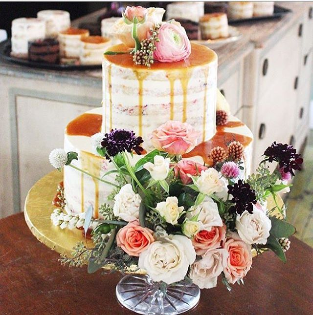 We love decorating delicious cakes with beautiful flowers! 💗🍰 🌸 Thanks @minimelanienyc for reminding us of this beautiful celebration we worked on together!  Dreamy divine... . . .  #yummy #caketopper #weddinginspo #newyorkflorist #bohostyle #feast #nakedcake #weddingcake #foodandflowers #haveyourcakeandeatittoo #goodenoughtoeat #mmmm #blooooms #tooprettytoeat #inspiredaily #acreativelife #underthefloralspell #alltheprettyflorals #lovewhatido #weddingflowers #dsfloral