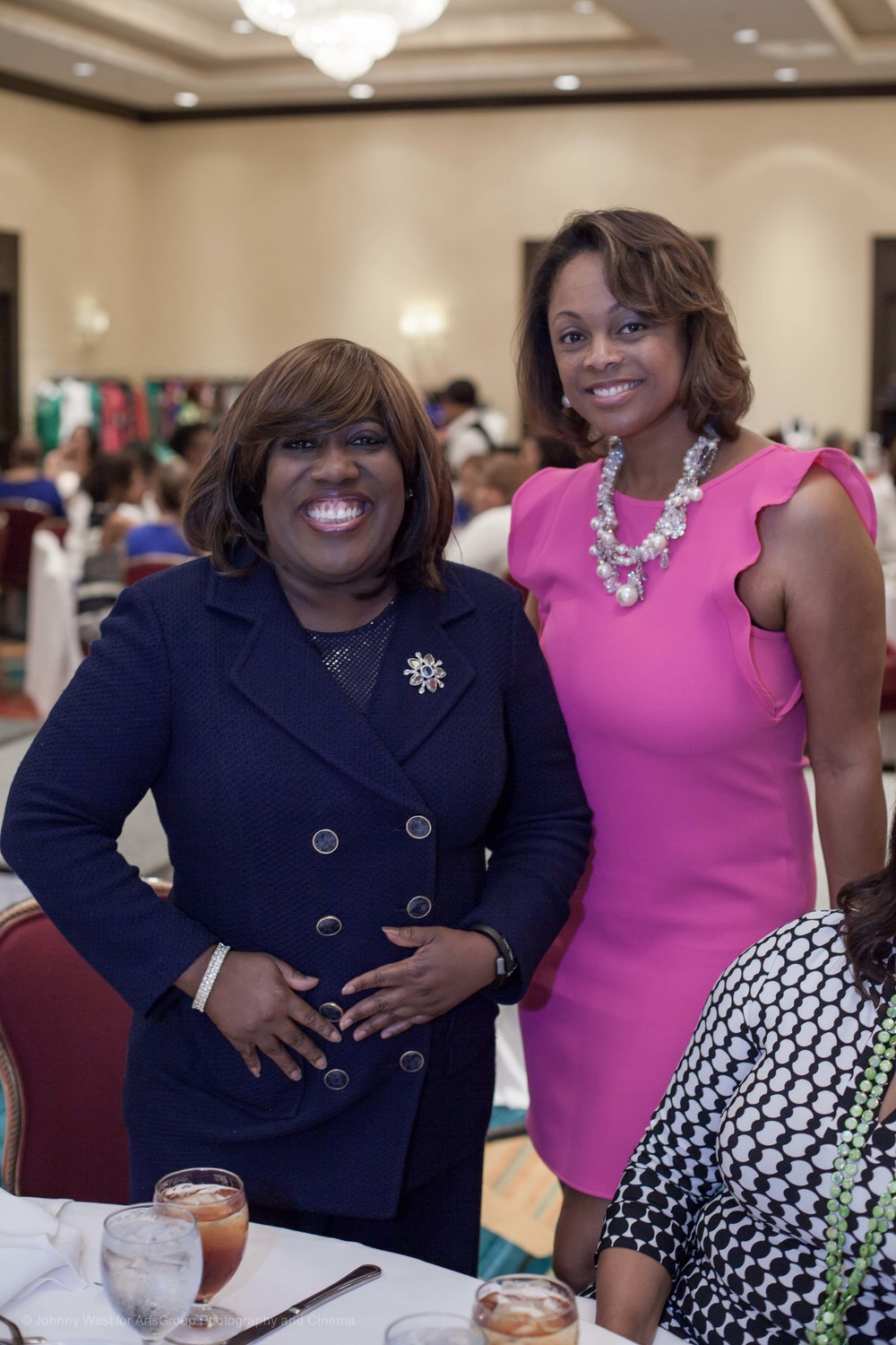 CBS Talk Show Personality and Comedienne Guest Speaker Sheryl Underwood & WHUR's Radio Personality Taylor Thomas
