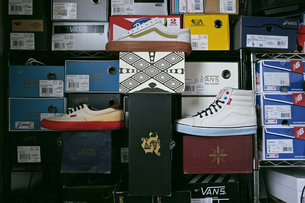 Vault by Vans x Sole Classics collaborative sneakers by the SC design team