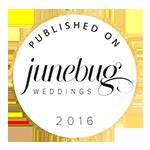 Featured on Junebug Weddings