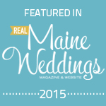 Featured in Real Maine Weddings Magazine