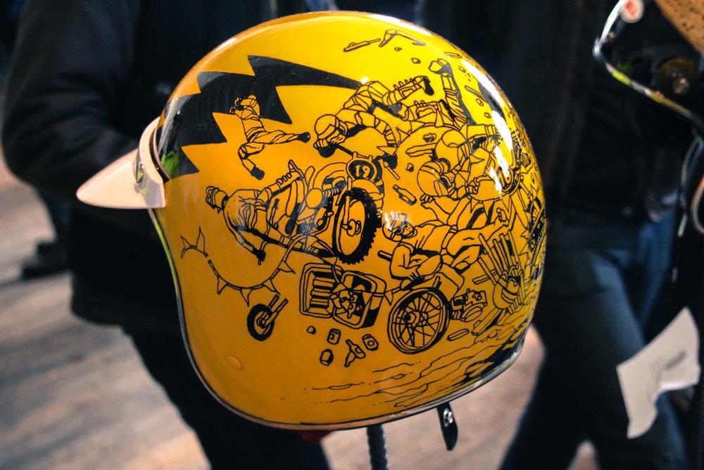 Helmet by Jeff Proctor