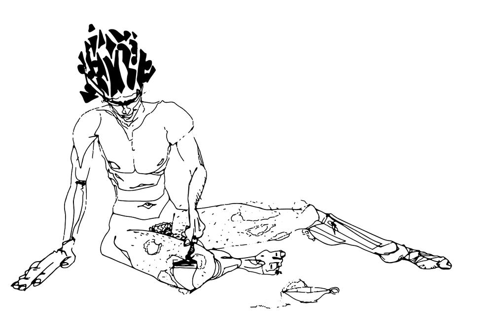 Words - Alex Dickinson - Illustrations by Peter Rubijono