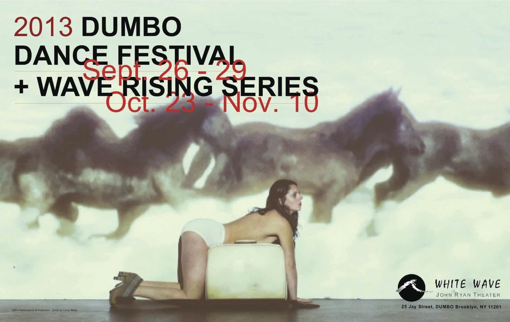Created Poster image for Dumbo Dance Festival