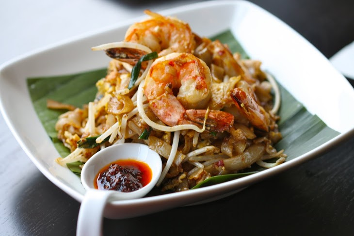 Char Kway Teow   with house made sambal chili sauce  Photo Credit: Caroline Aksich