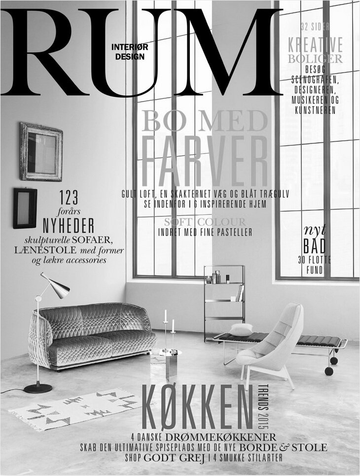 RUM MAGAZINE COVER PAGE - DB100 DAYBED
