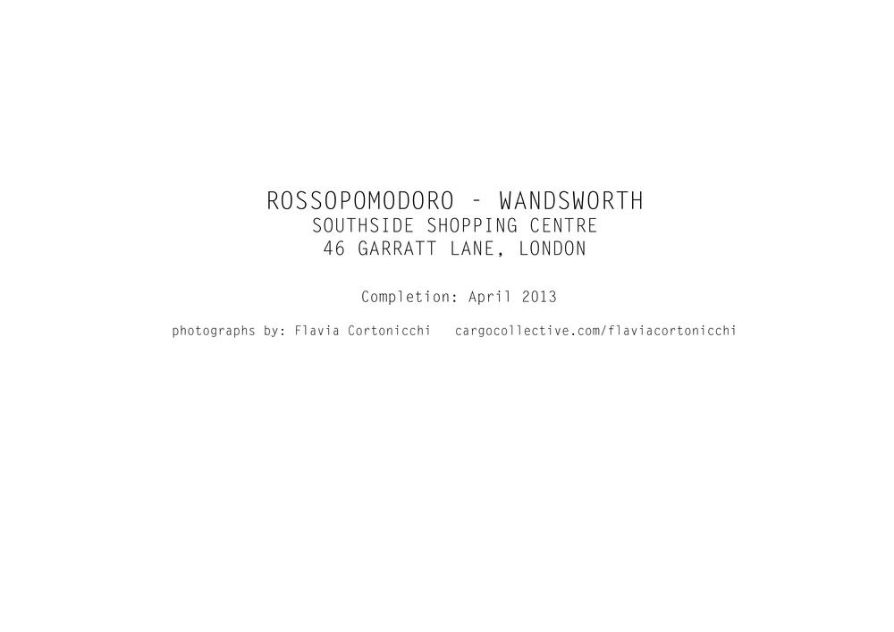 business plan rossopomodoro